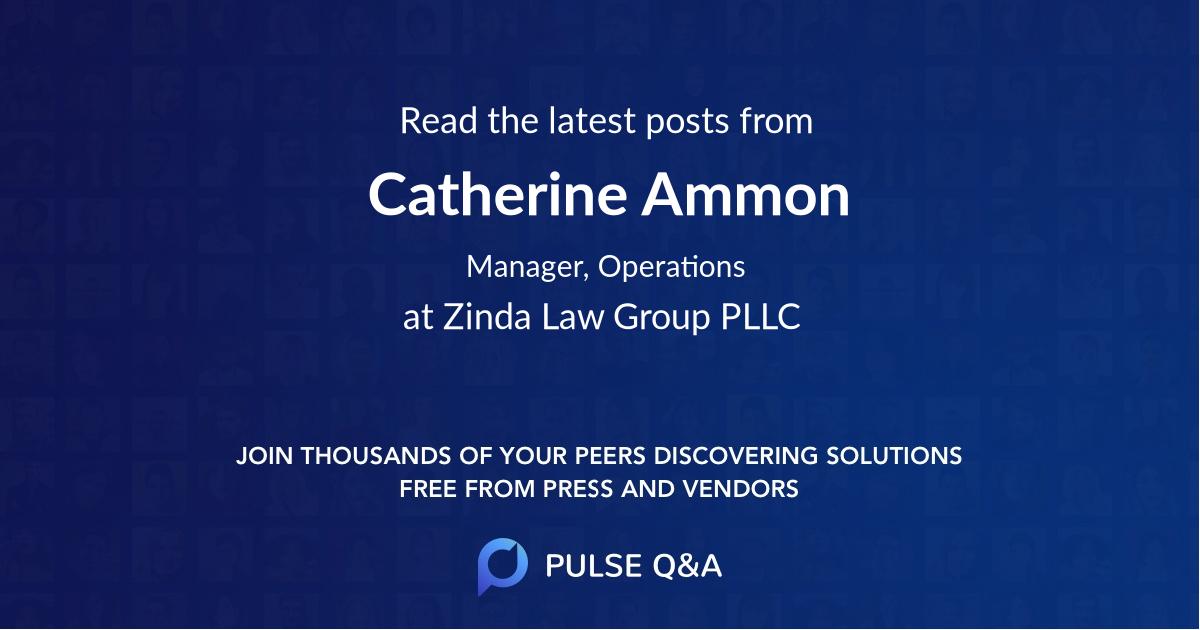 Catherine Ammon