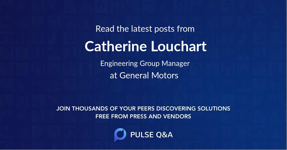 Catherine Louchart