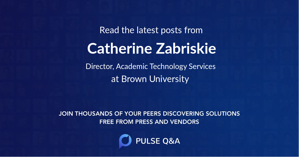 Catherine Zabriskie