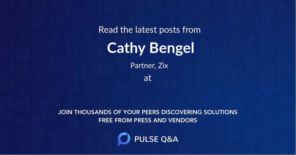 Cathy Bengel