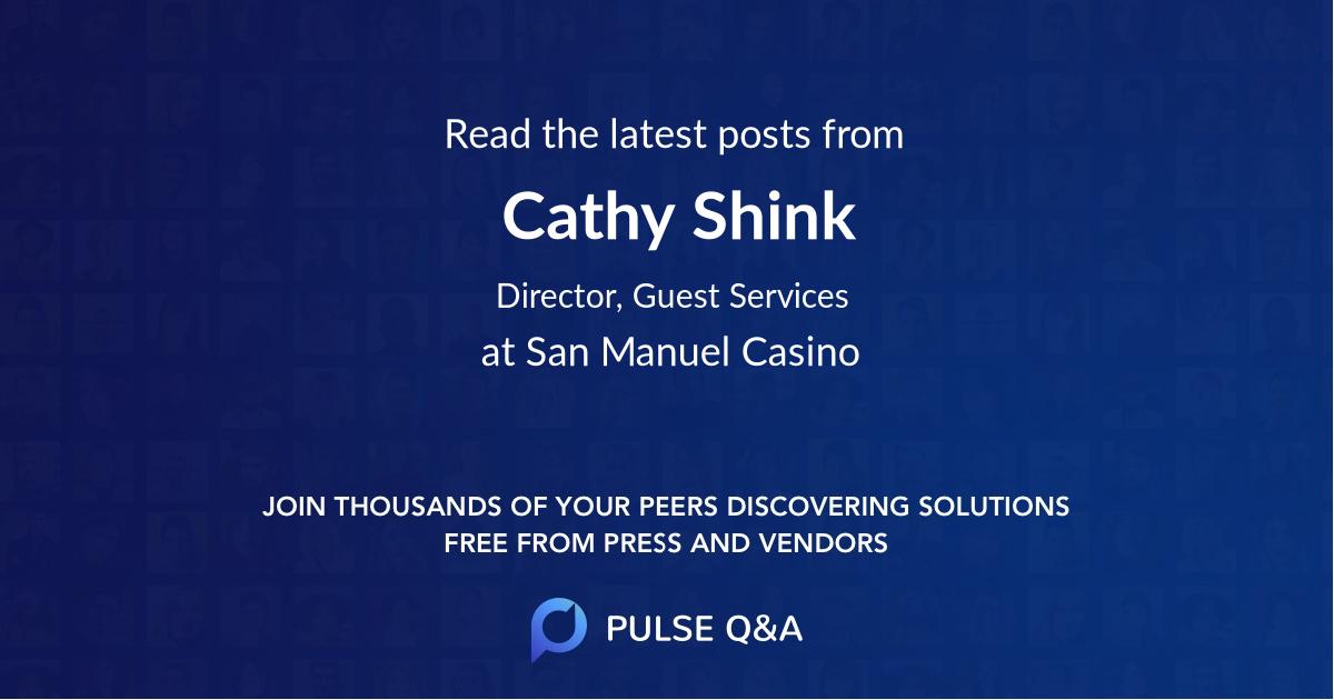 Cathy Shink