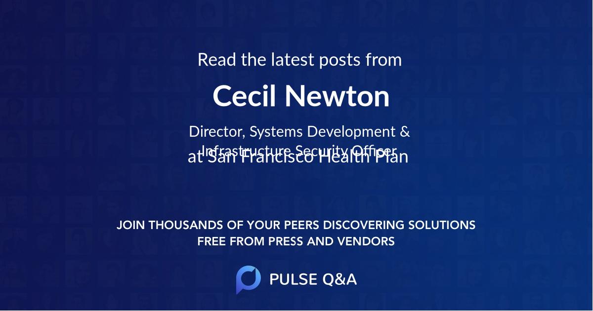 Cecil Newton