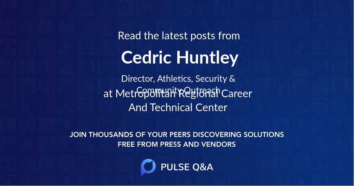 Cedric Huntley