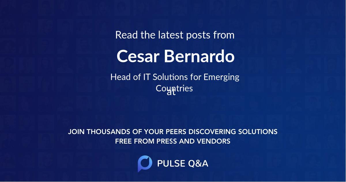 Cesar Bernardo