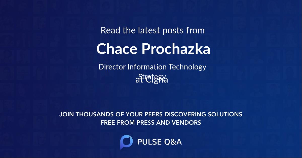 Chace Prochazka