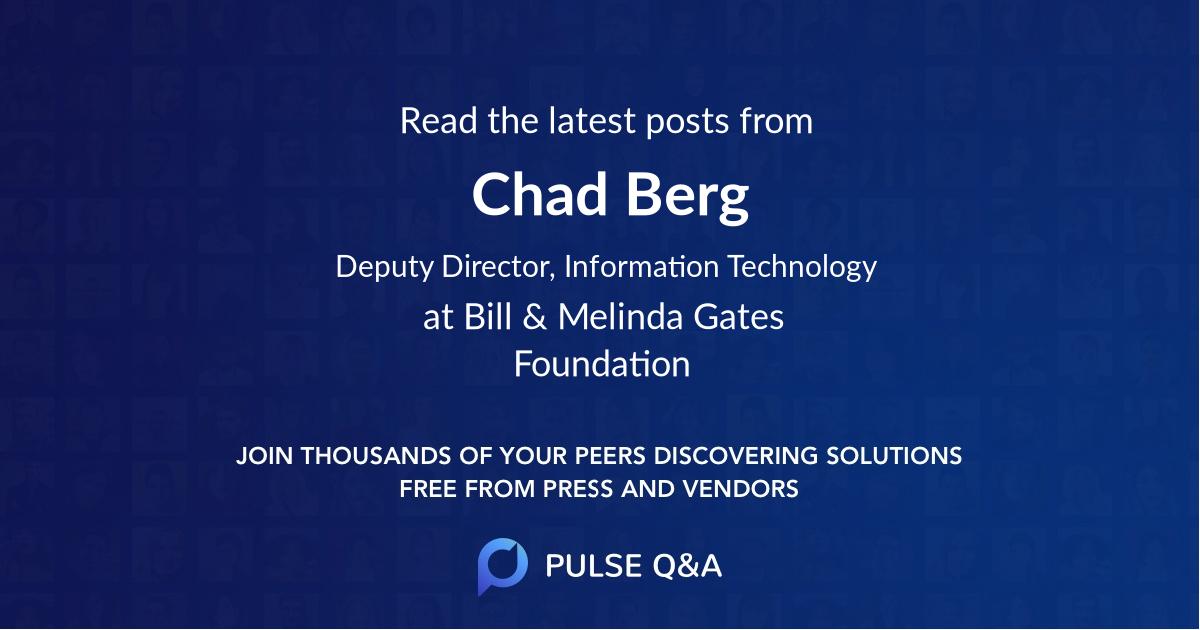 Chad Berg
