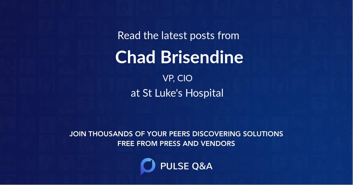 Chad Brisendine