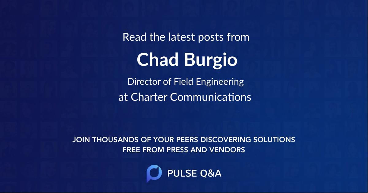 Chad Burgio