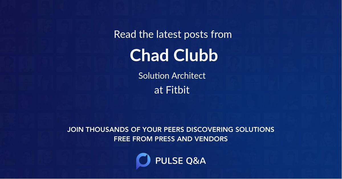 Chad Clubb