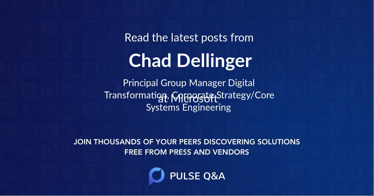 Chad Dellinger