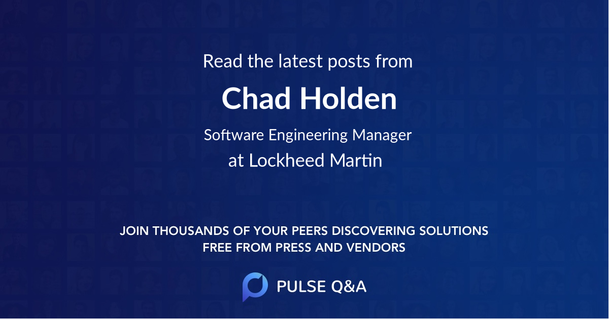 Chad Holden