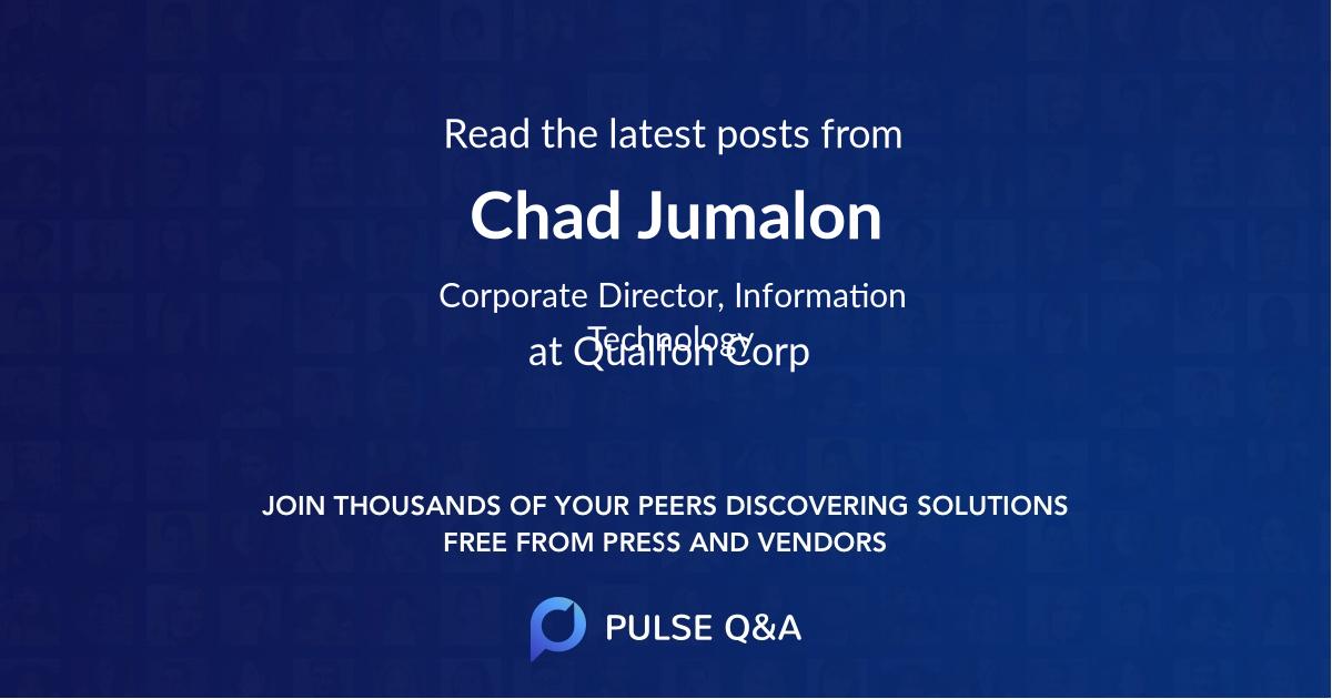 Chad Jumalon