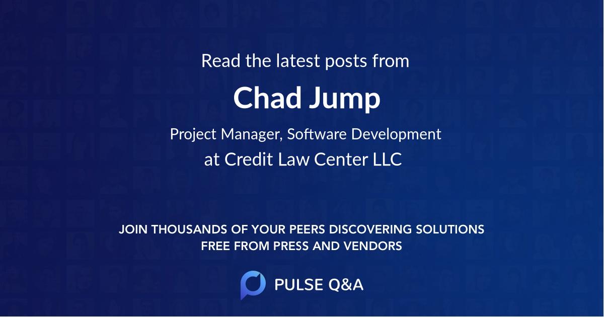 Chad Jump