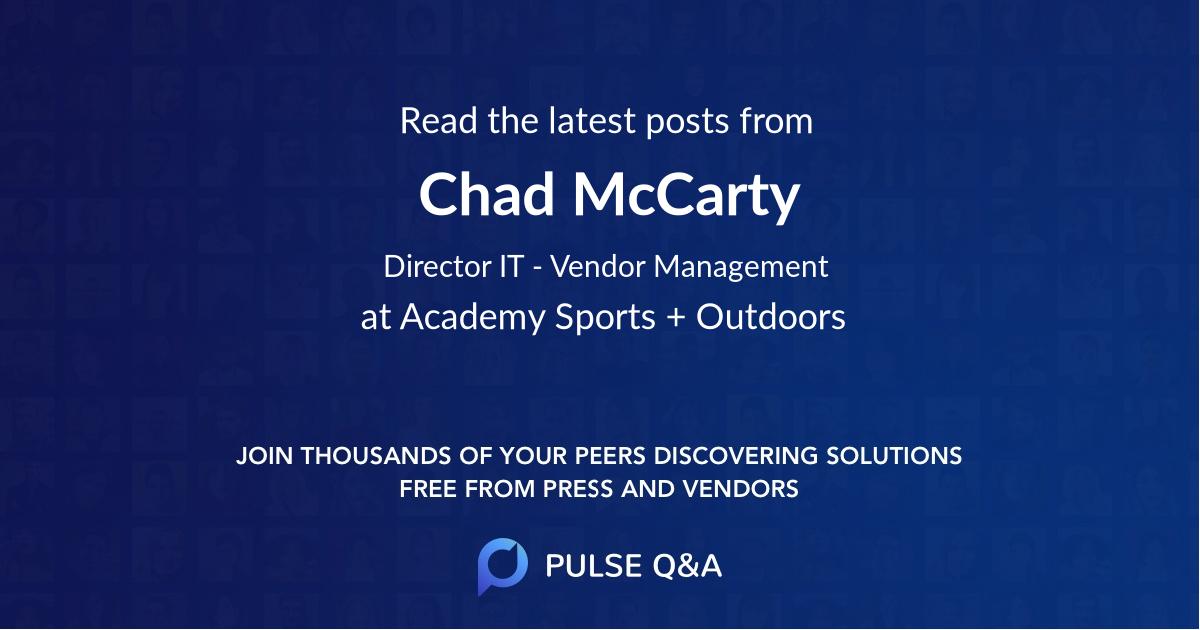 Chad McCarty