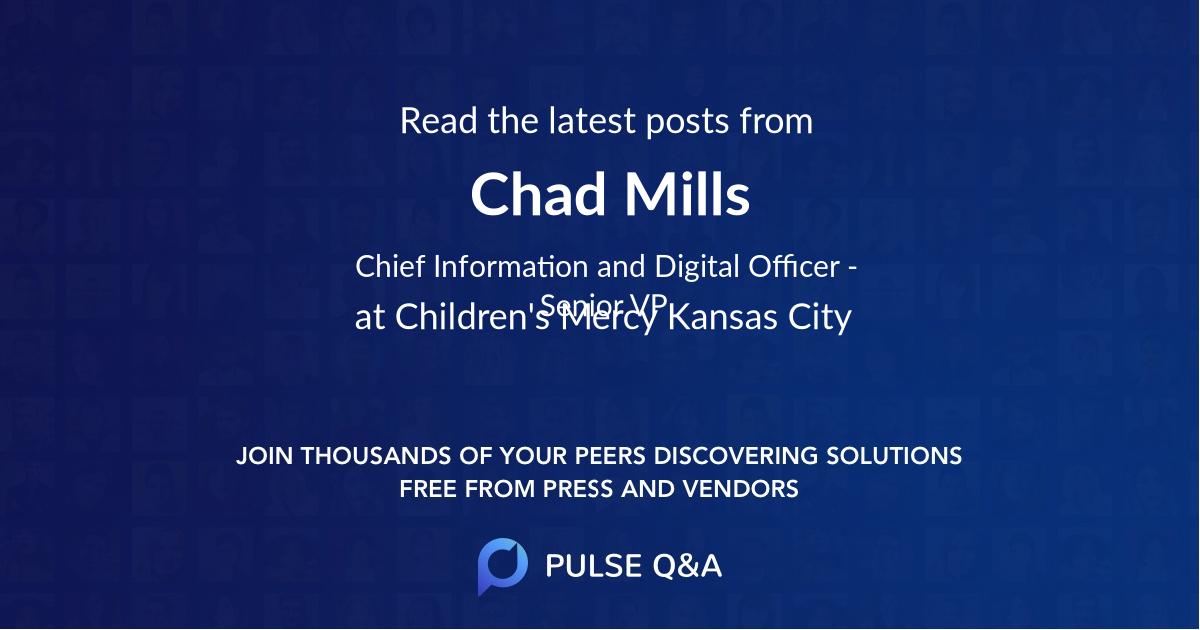 Chad Mills
