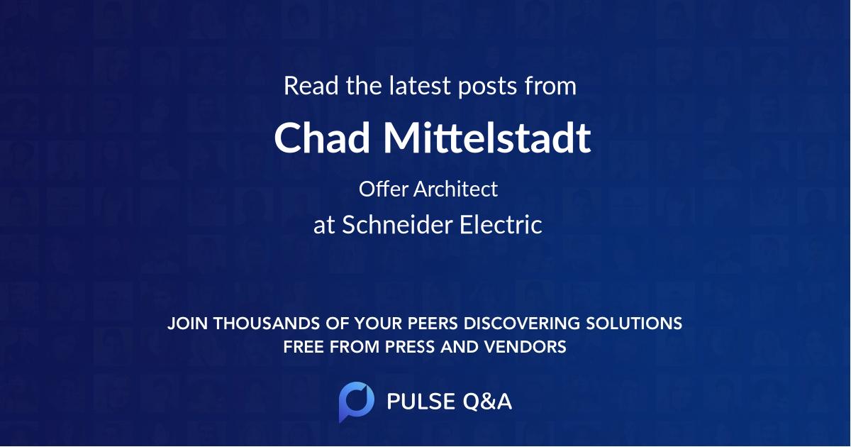 Chad Mittelstadt