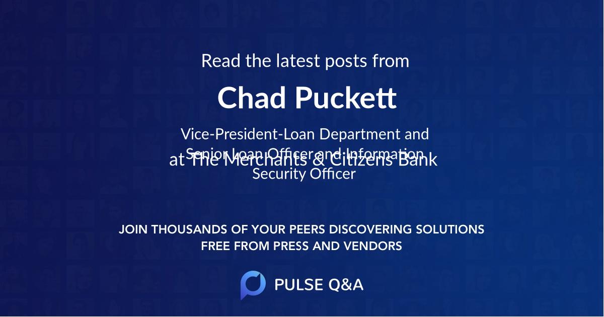 Chad Puckett