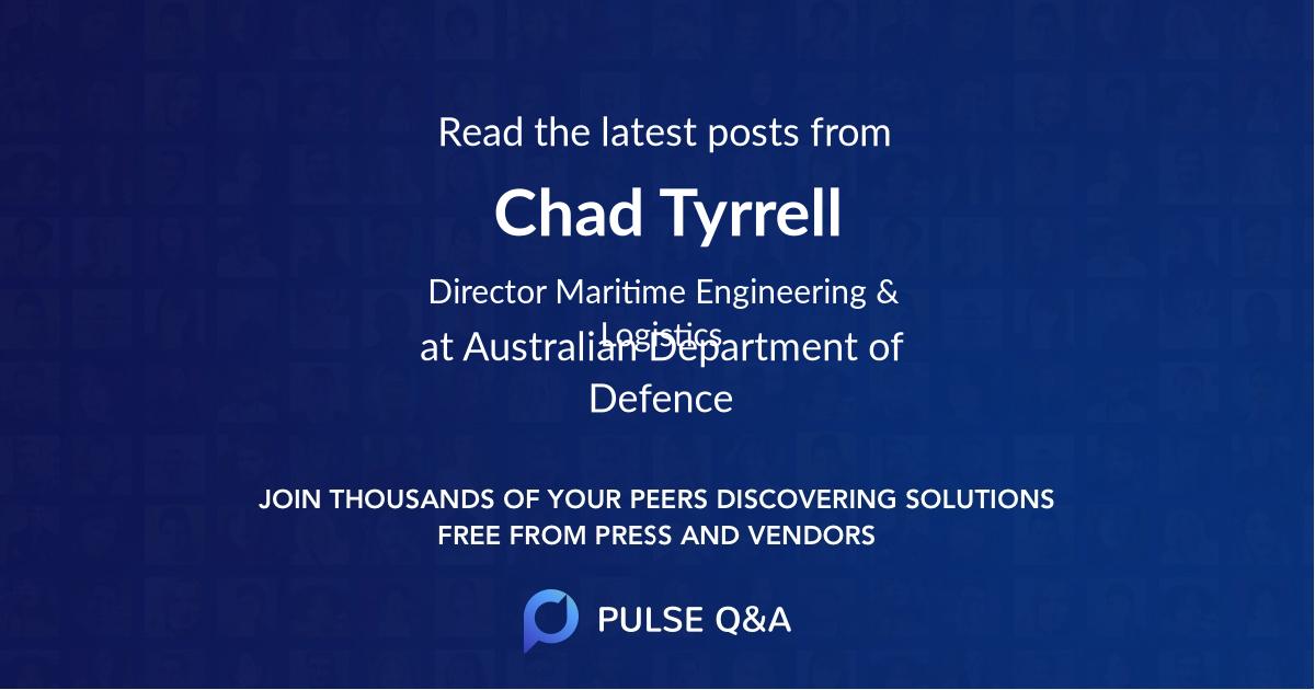 Chad Tyrrell