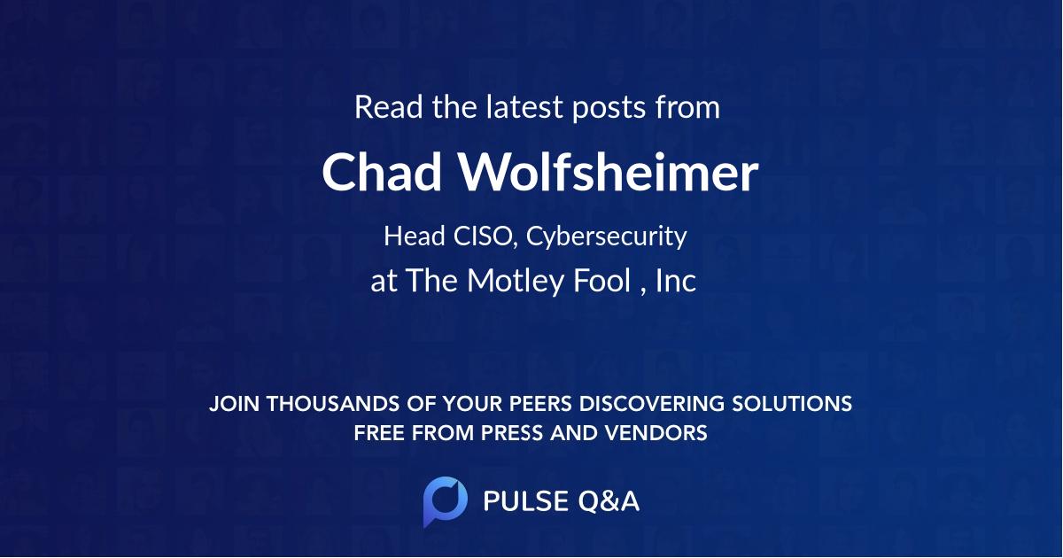 Chad Wolfsheimer