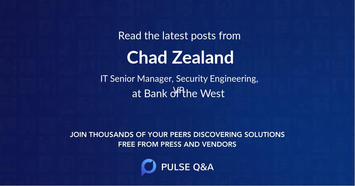 Chad Zealand