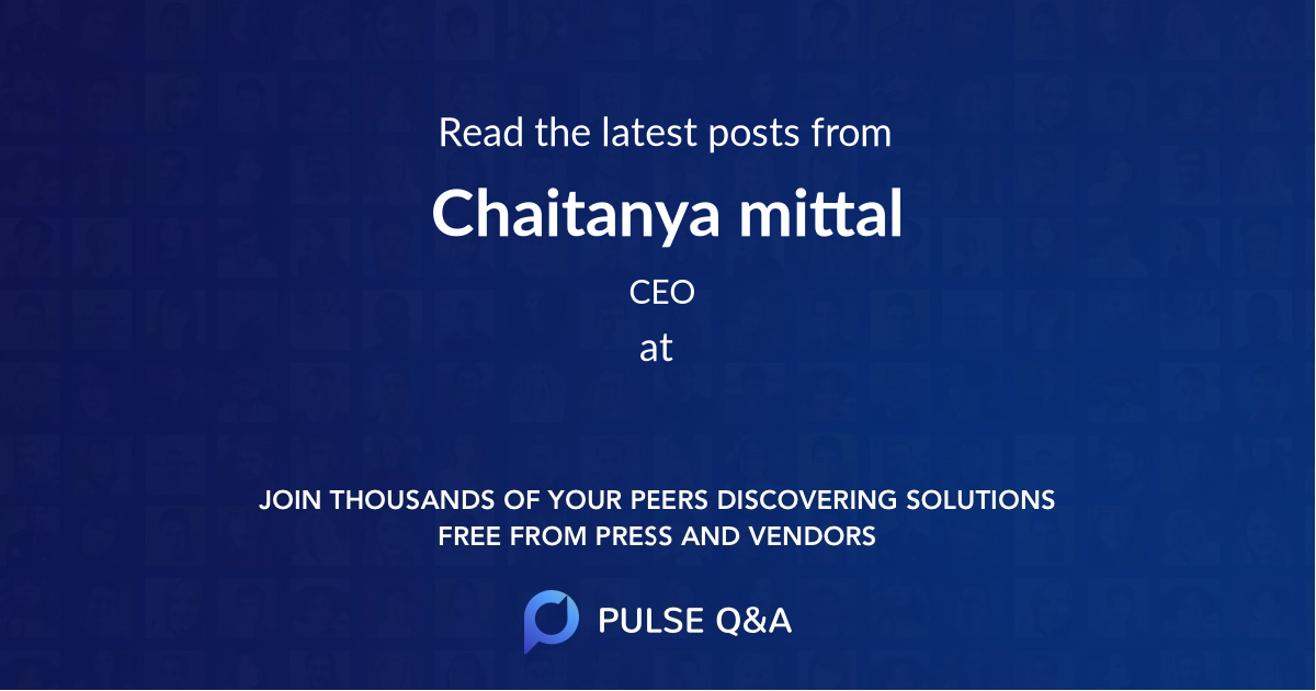 Chaitanya mittal