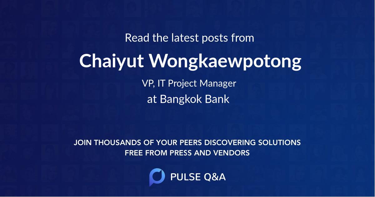 Chaiyut Wongkaewpotong