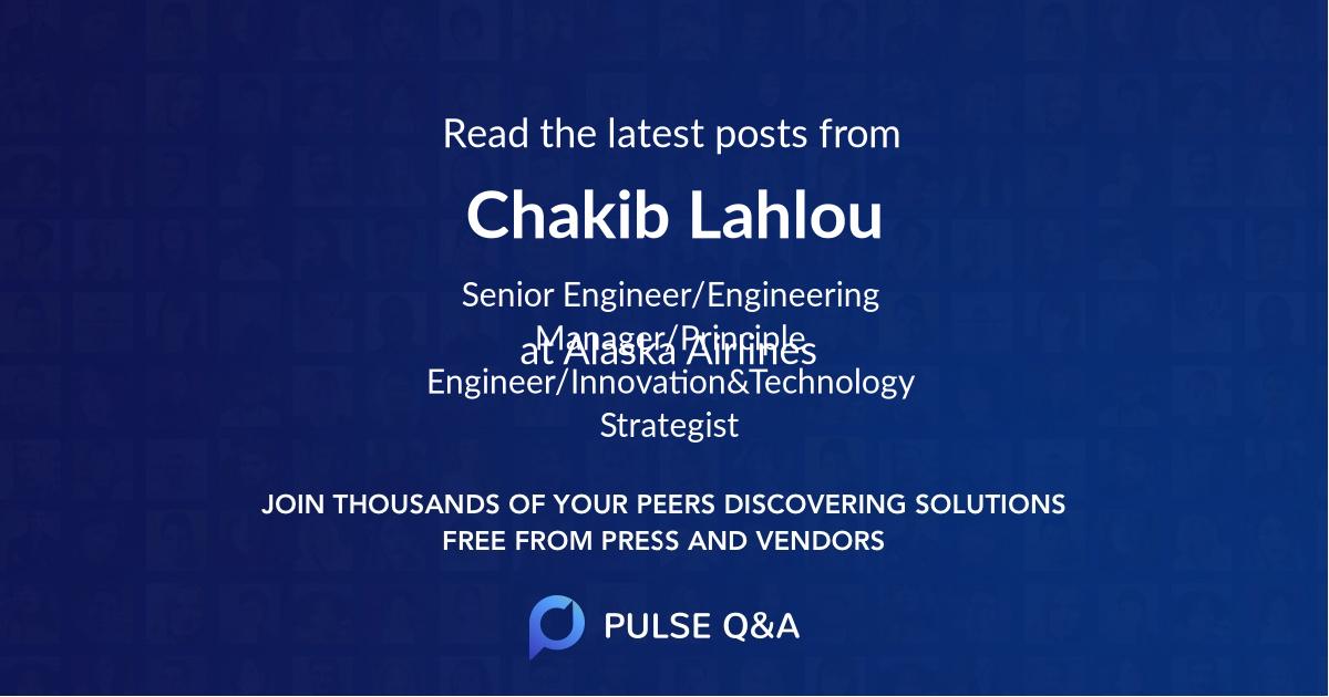 Chakib Lahlou
