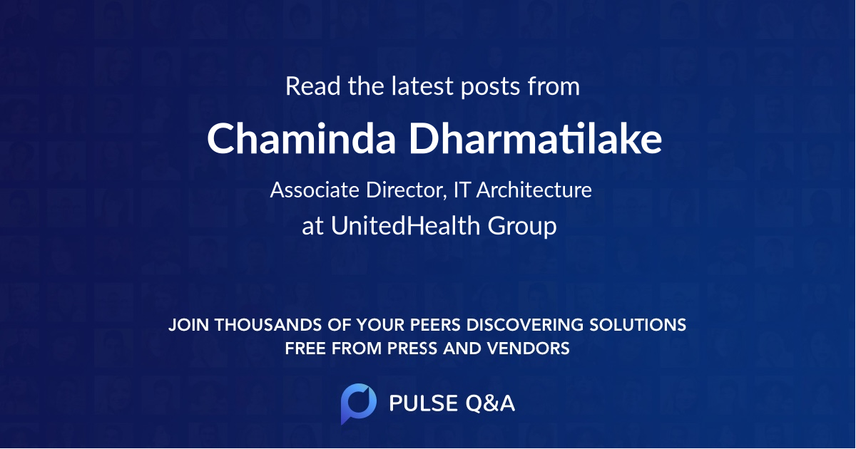 Chaminda Dharmatilake