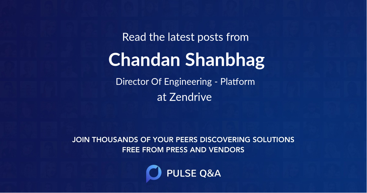 Chandan Shanbhag