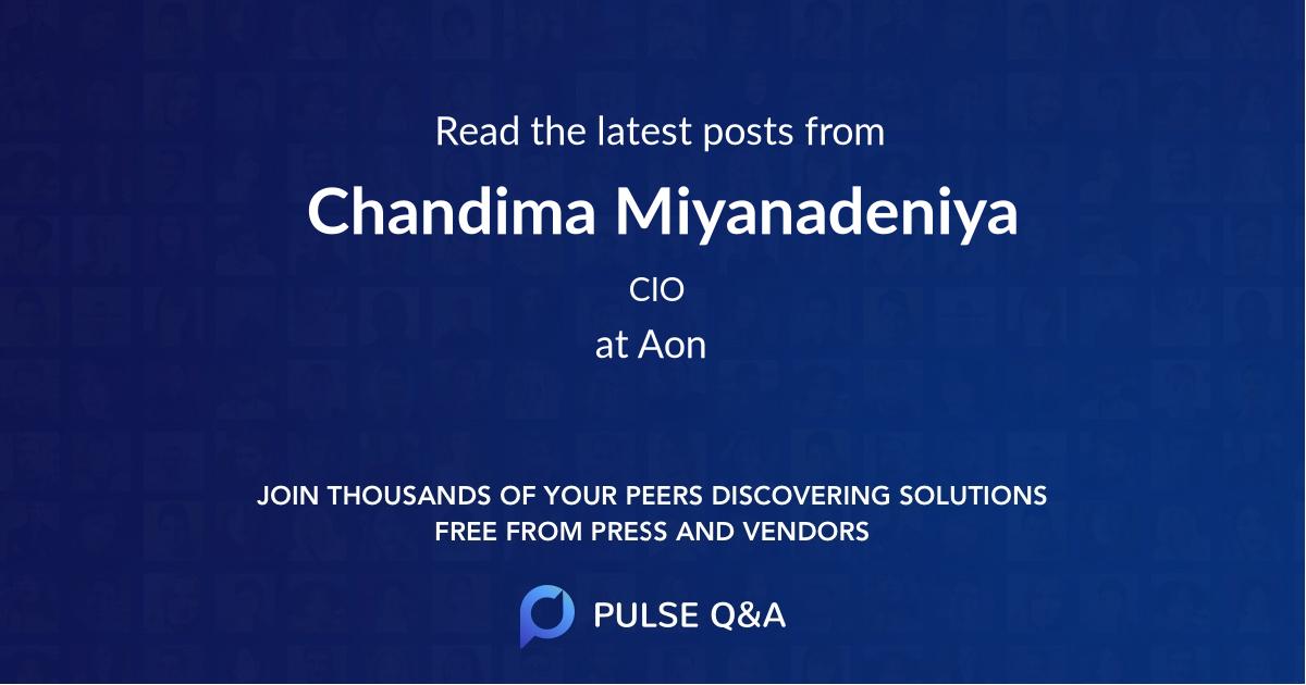 Chandima Miyanadeniya