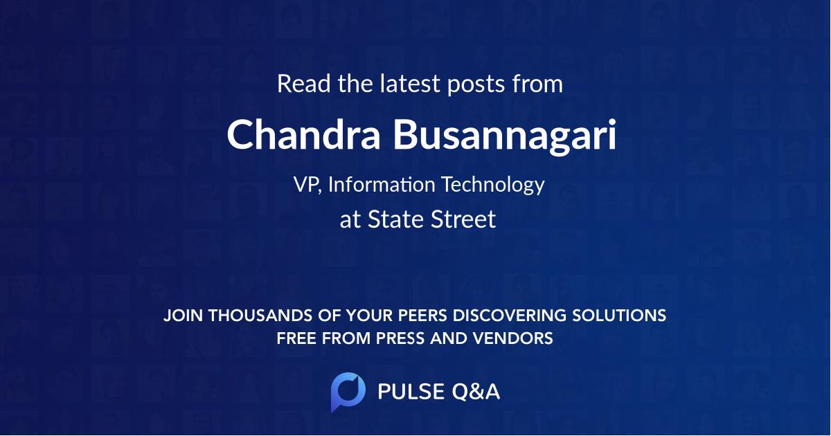 Chandra Busannagari