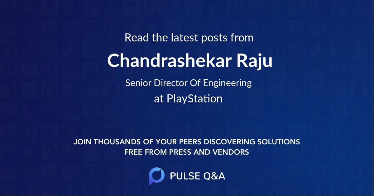 Chandrashekar Raju