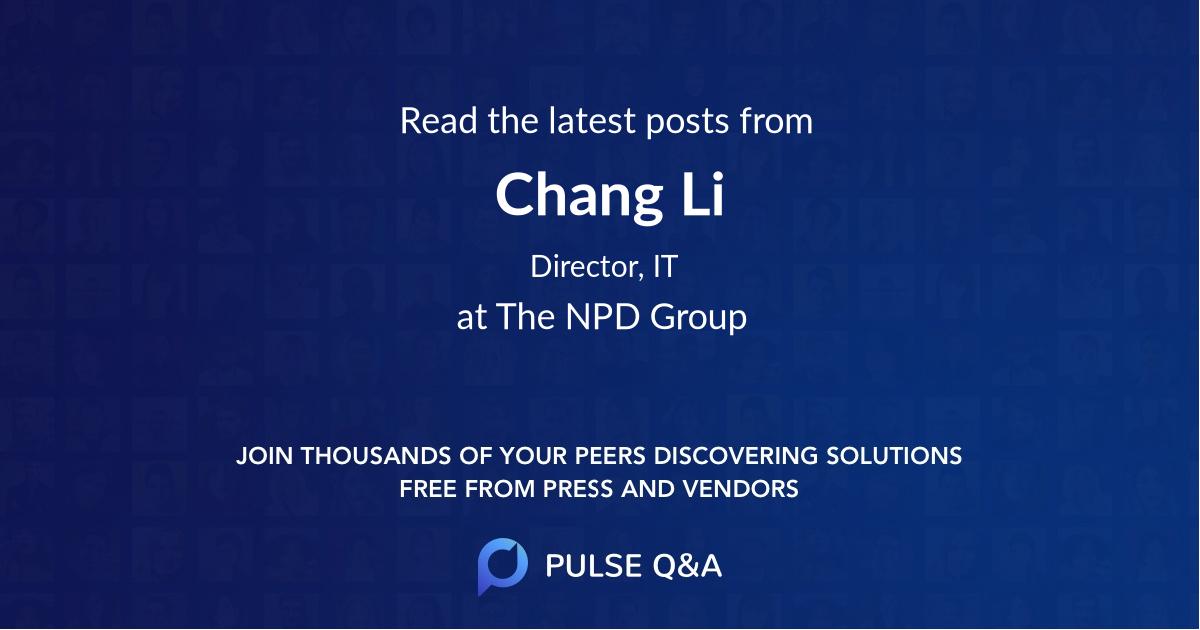 Chang Li