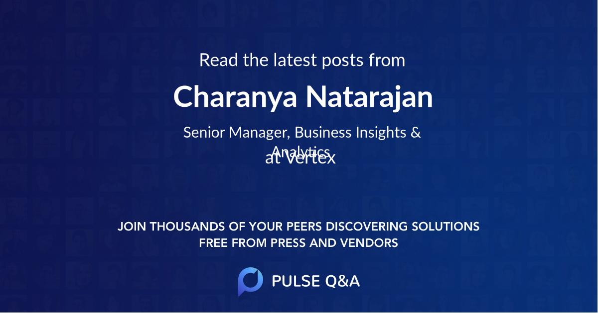 Charanya Natarajan