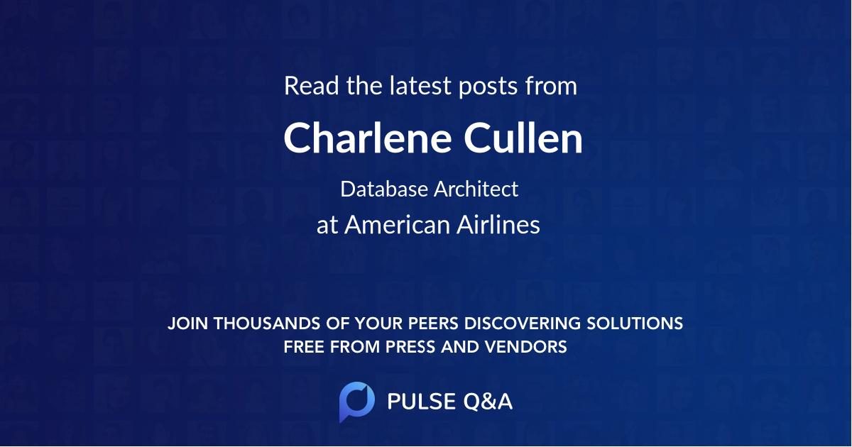 Charlene Cullen