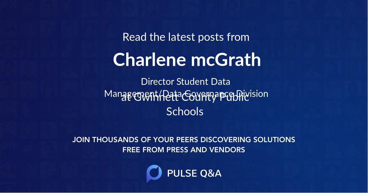 Charlene mcGrath
