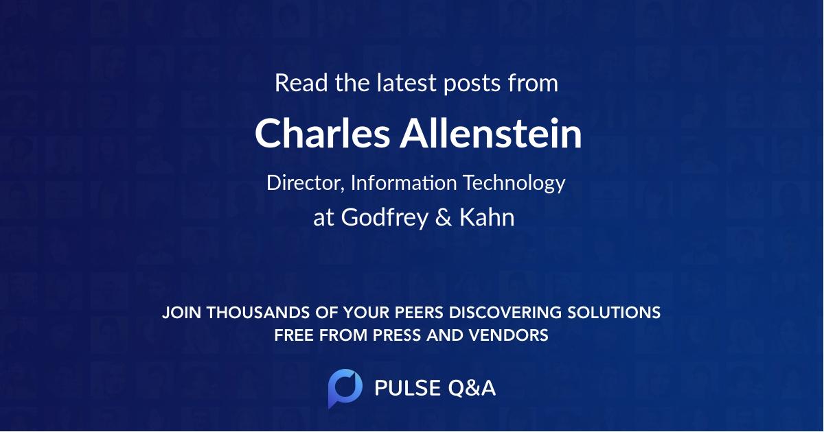 Charles Allenstein
