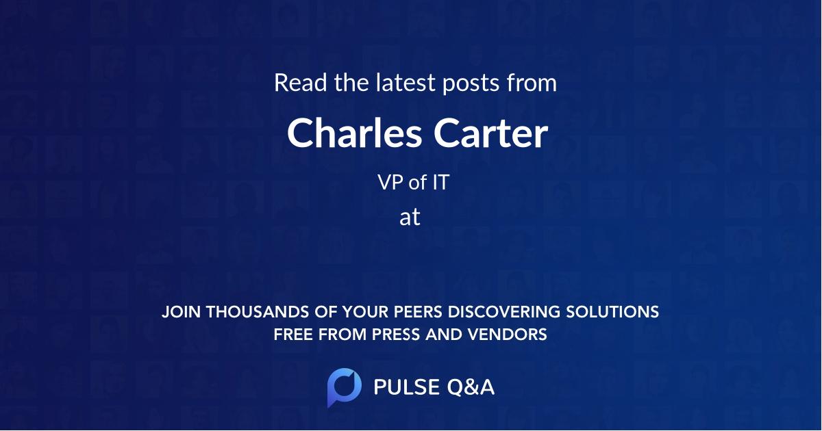 Charles Carter