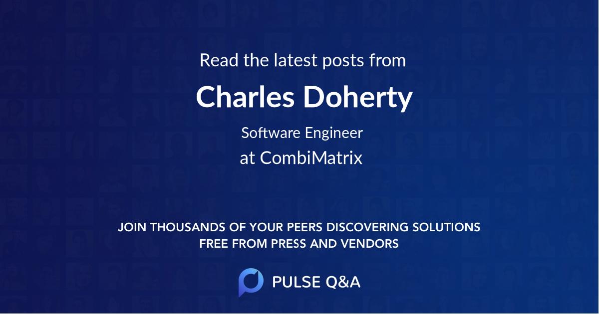 Charles Doherty