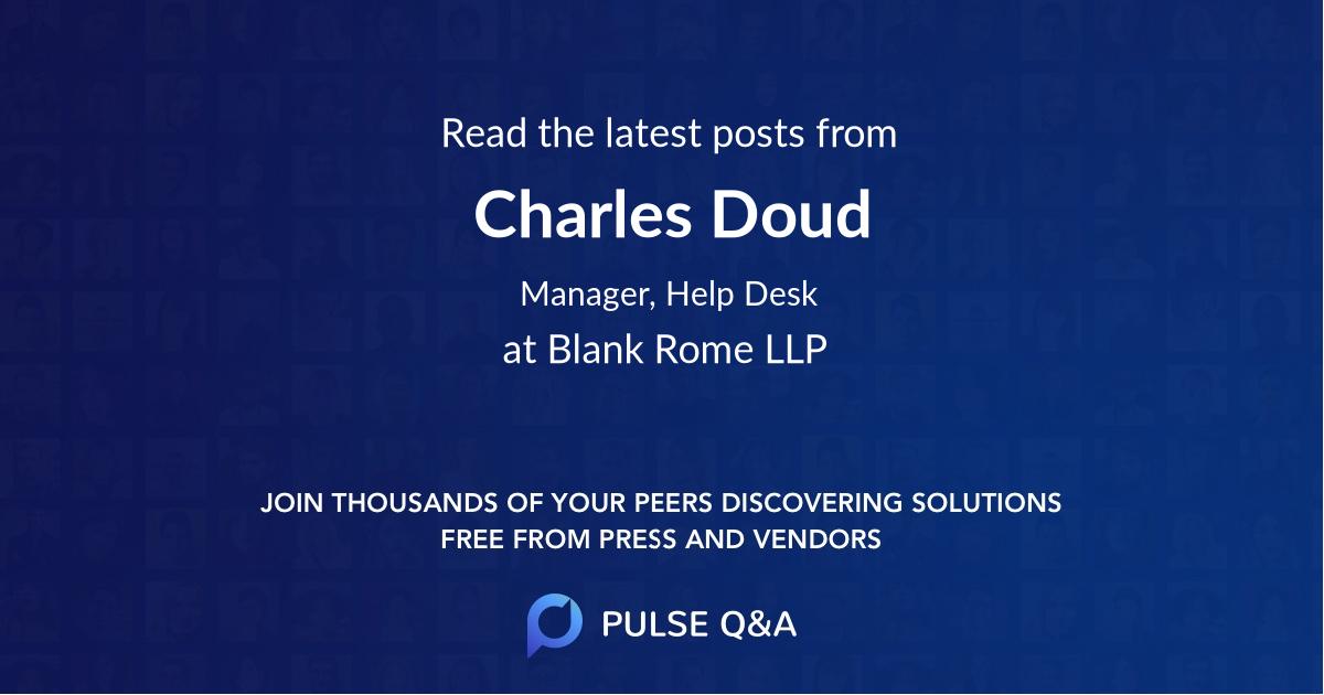Charles Doud