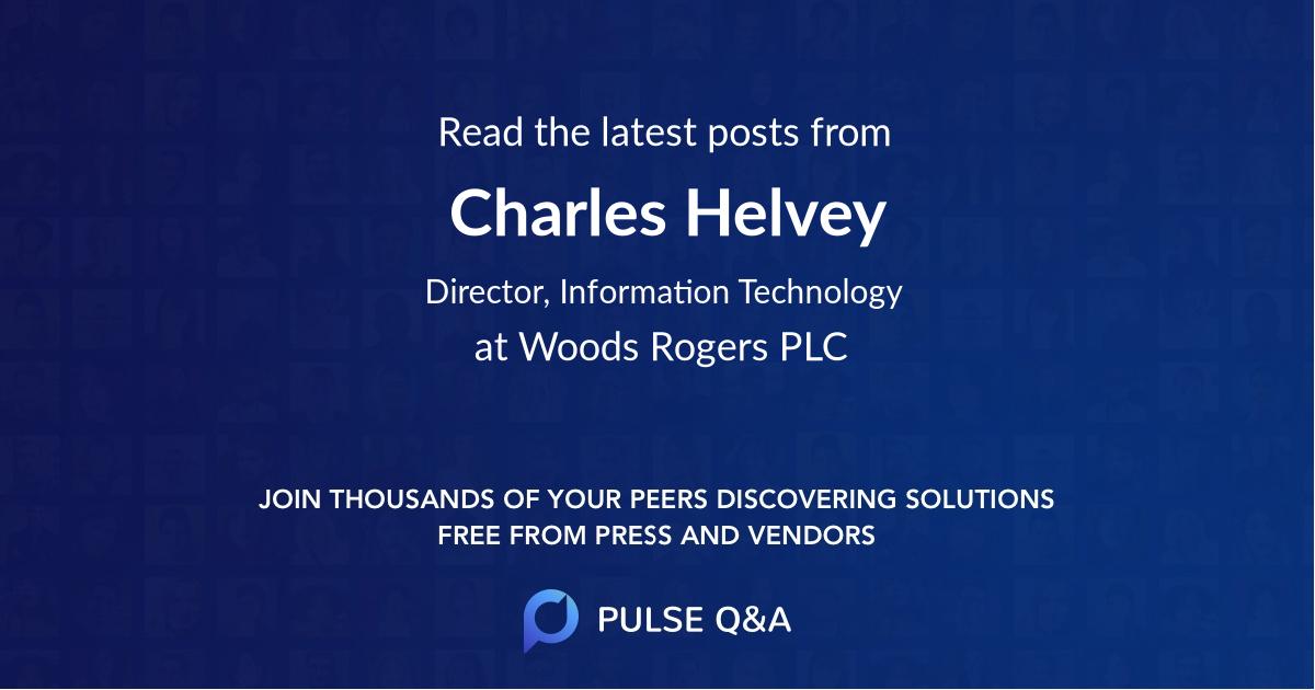 Charles Helvey