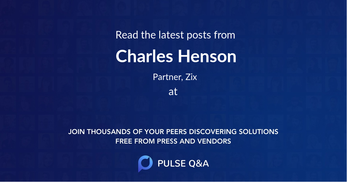 Charles Henson