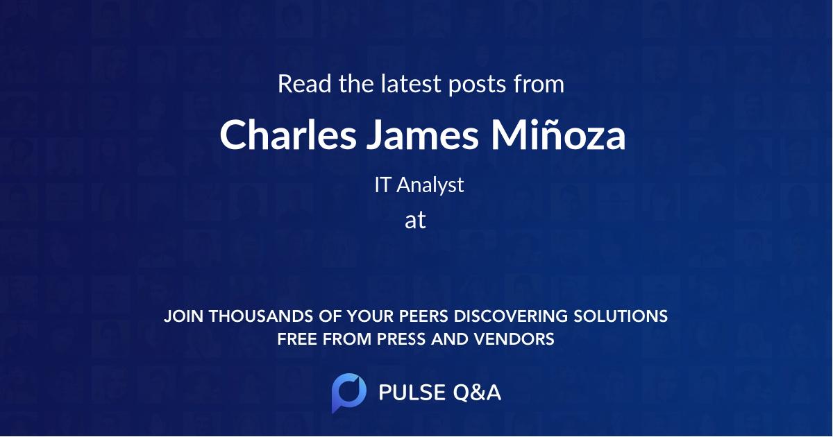 Charles James Miñoza