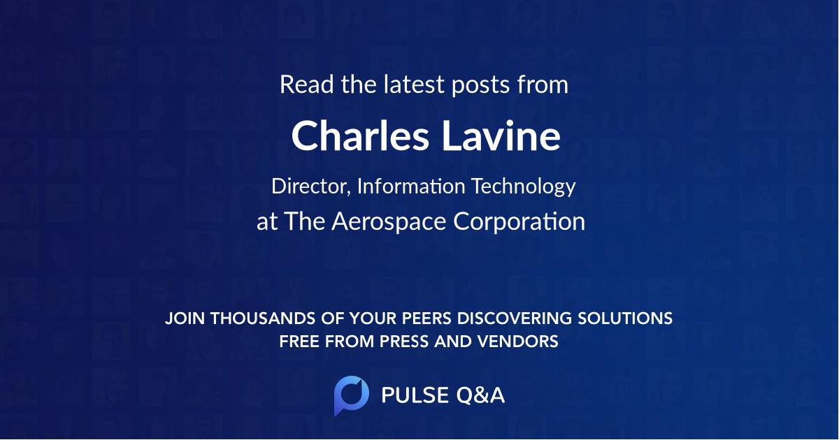 Charles Lavine