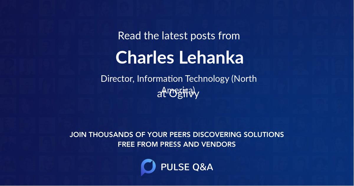Charles Lehanka