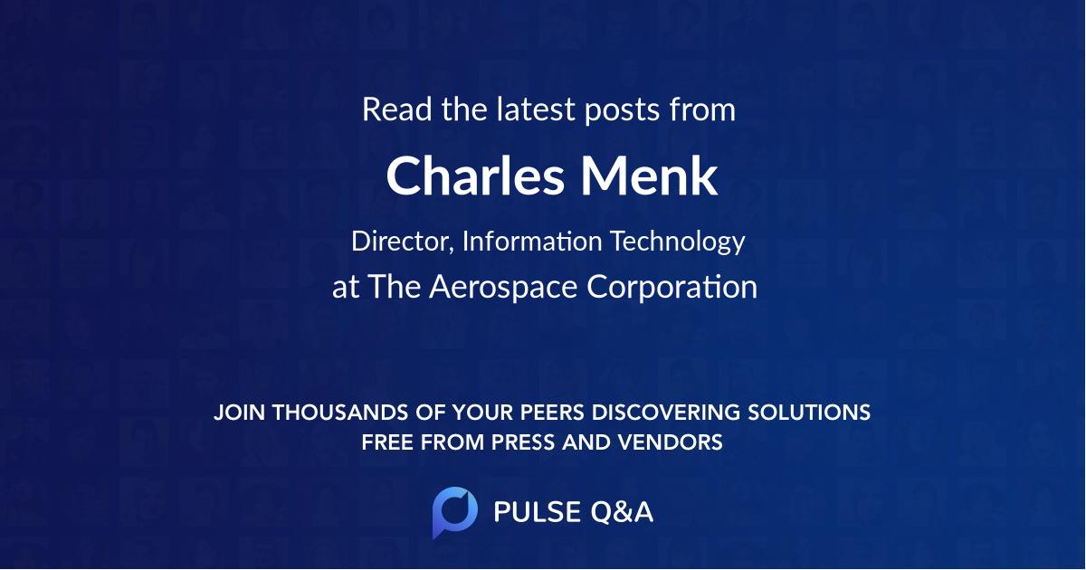 Charles Menk