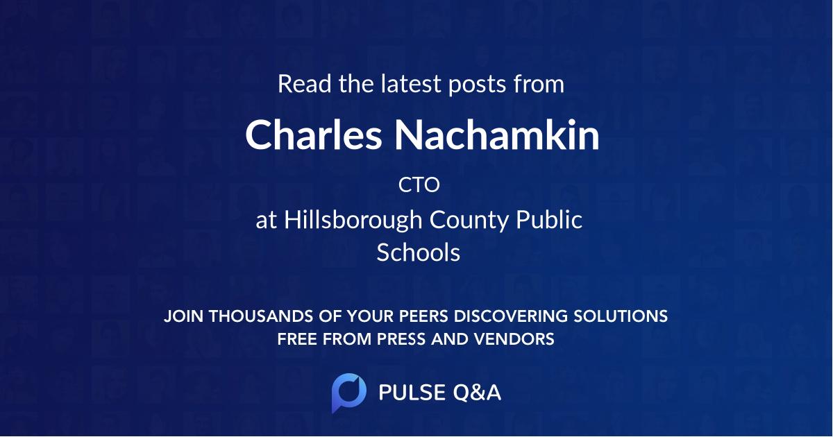 Charles Nachamkin