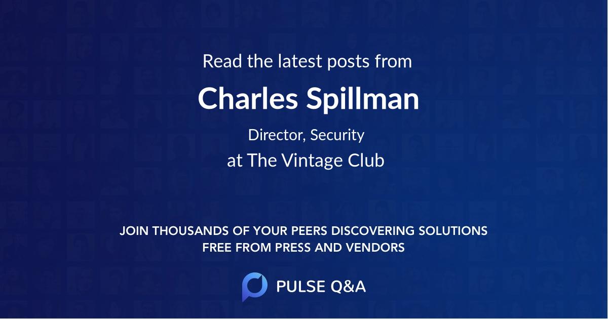 Charles Spillman