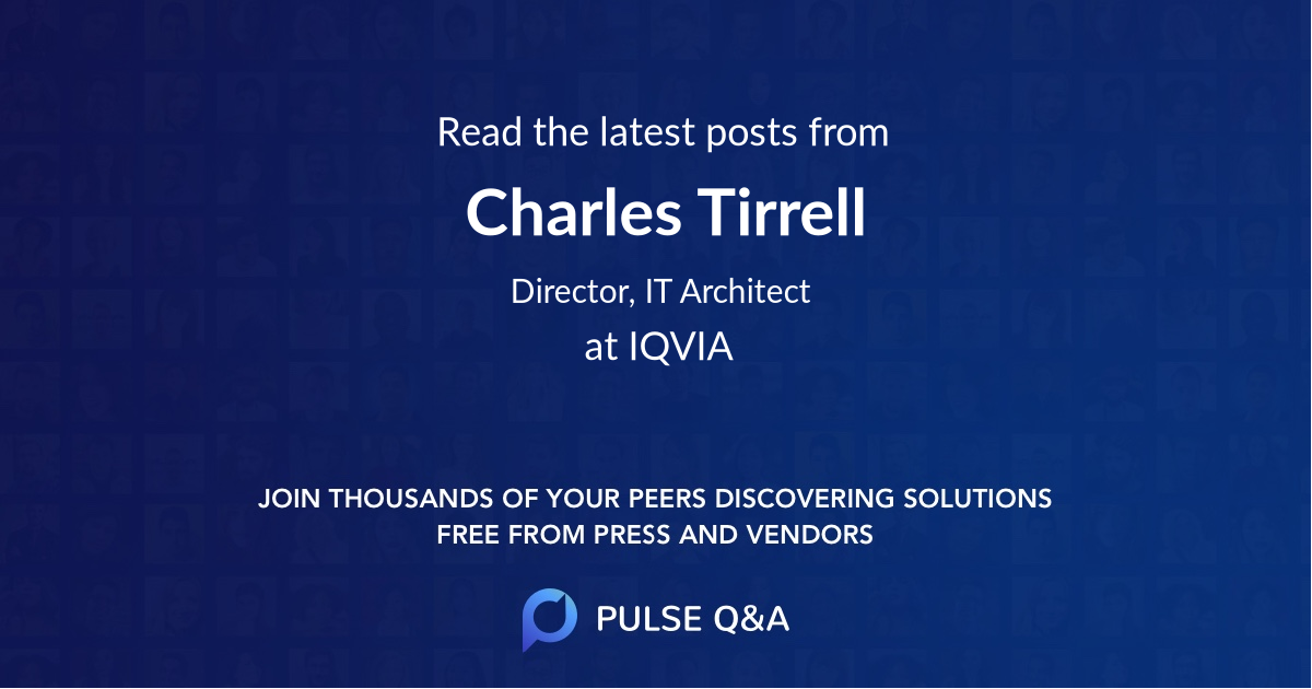 Charles Tirrell