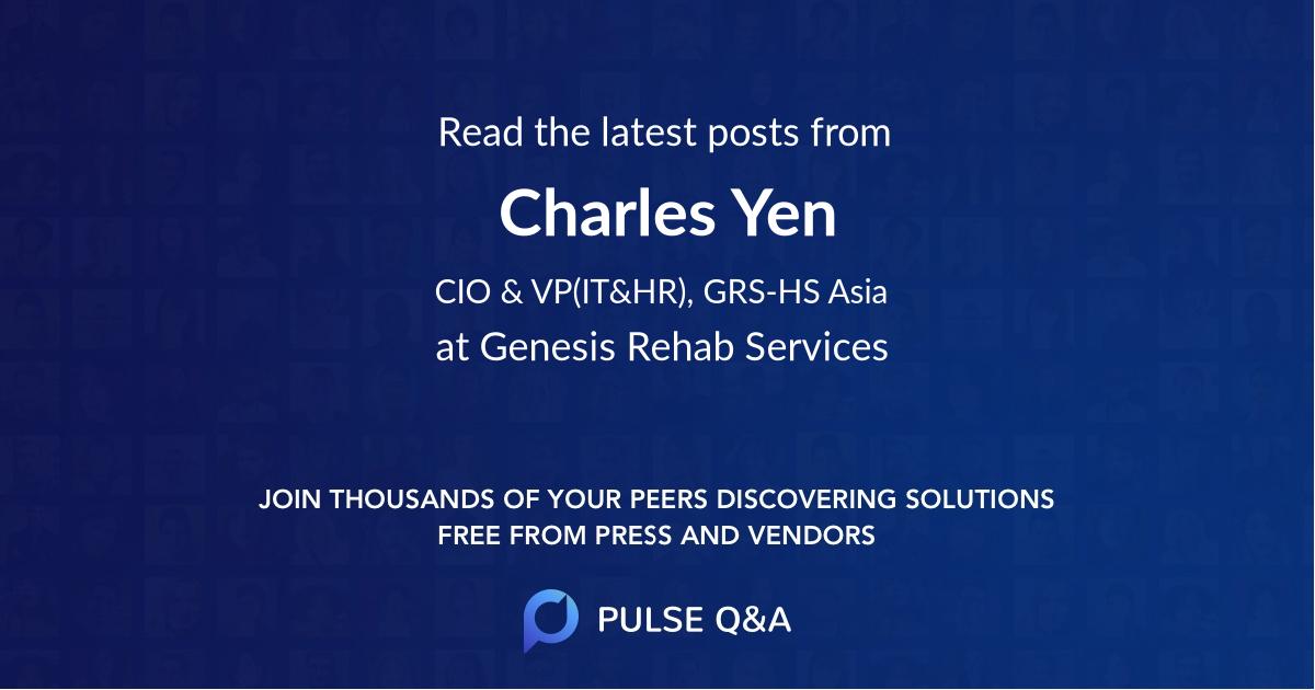 Charles Yen